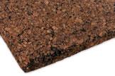 Multicork Solutions Zierkorkplatte Presskorkplatte schwarz